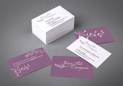 Fire flame portfolio tag business cards business cards silver ash campers colourmoves